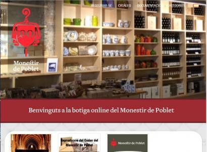 www.botigadepoblet.cat